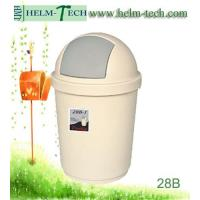 China plastic recycle round dustbin-L-28B-1 wholesale