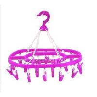 China 20pegs ellipse clothes hanger GY-302 wholesale