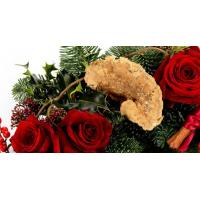 Xmas Wreath with Roses
