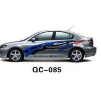 Buy cheap Car Body Sticker QC-085E PVC Water Proof Car Decoration from wholesalers