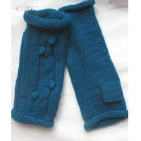 China Long cable knitted leg warmer wholesale