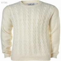 China Cream cable men cardigan sweater on sale