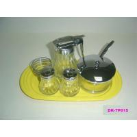 China Salt and Pepper series 5pcs Perfect Breakfast Set With Tray wholesale