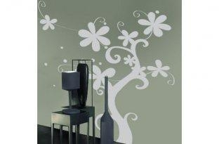 Quality Removable Vinyl Wall Sticker P1-02C Tree Wall Decal for sale