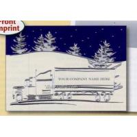 China Deerfield Trucking Theme Greeting Card - Holiday Trucking wholesale