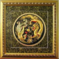 China Embroidery Craft-Dragon and Phoenix wholesale