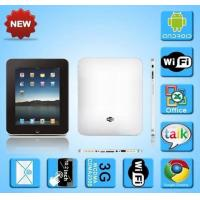 China 10.2 Inch Android Os PC with Google Map/3G/Wifi wholesale