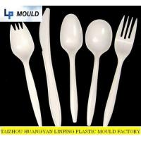 China Plastic spoon mould-fork molds-plastic dinnerware mould-disposable cutlery mold-top mould china wholesale