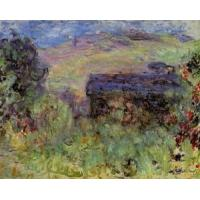 China Impressionist(3830) The_House_Seen_through_the_Roses wholesale
