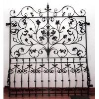 China wrought iron window grilles wrought iron windows guards 002 on sale