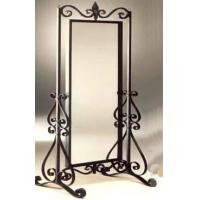 China iron mirror frame Wrought iron mirror frame  001 on sale