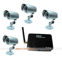 China 907P4 Wireless USB Quad receveier with camera wholesale