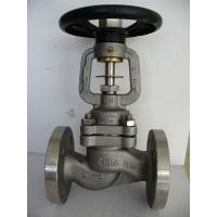 Bellow seal globe valve of btruikevalve