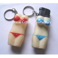 China Bikini Lighter Holder With Keychain wholesale