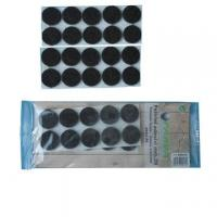 China black  felt adhesive pad for skid protector #500301 wholesale