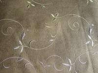 China EMBROIDERY PVC LEATHER... wholesale