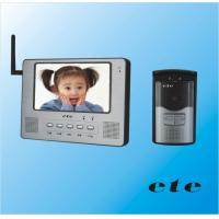 China Model: T-708CW (Wireless7inch indoor monitor) wholesale