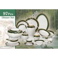 China Cup and Saucer Home>> 97pcs dinner set wholesale
