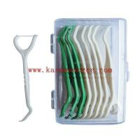 China twin blade razor YX-527 dental floss pick wholesale