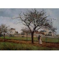 China Impressionist(3830) The_House_of_Pere_Gallien,_Pontoise wholesale