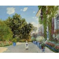 China Impressionist(3830) The_Artist-s_House_at_Argenteuil wholesale