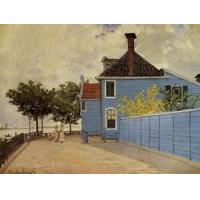 China Impressionist(3830) The_Blue_House_at_Zaandam wholesale