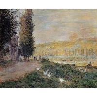 China Impressionist(3830) The_Banks_of_the_Seine,_Lavacour wholesale