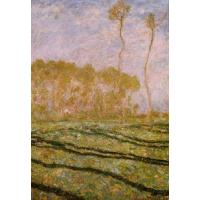 China Impressionist(3830) Springtime_Landscape_at_Giverny wholesale