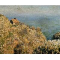China Impressionist(3830) The_Fisherman-s_House_at_Varengeville wholesale