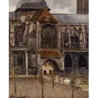 China Impressionist(3830) Portal_of_the_Church_Saint-Jacques,_Dieppe wholesale
