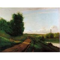 China Impressionist(3830) The_Banks_of_the_Marne wholesale