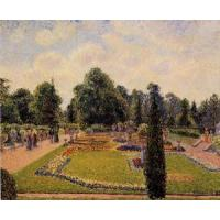 China Impressionist(3830) Kew_Gardens_-_Path_between_the_Pond_and_the_Palm_House wholesale