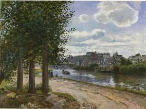 Quality Impressionist(3830) Banks_of_the_Oise for sale
