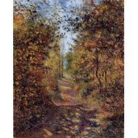 China Impressionist(3830) A_Path_in_the_Woods,_Pontoise wholesale