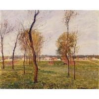 China Impressionist(3830) A_Meadow_in_Moret wholesale