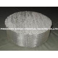 China Catalyst Metal Structured Packing Metal Wire Gauze Packing wholesale