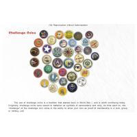 Semi-Cloisonne Challenge Coins Onclick This picture