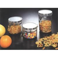 China F-6118 3 PIECES VACUUM CANISTER W/CHROME LIDS wholesale