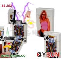 China BS-203 Shocking lighter with light wholesale