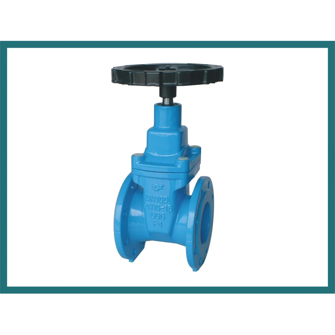 China Resilient Seated Gate Valve - F4, With Hand Wheel wholesale