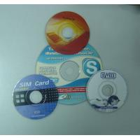 China Mini CDs/DVDs with 4C Printing wholesale