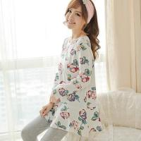 China Special clothing BN-SS002 long sleeve sleepwear wholesale