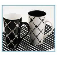 China ceramic office cup wholesale