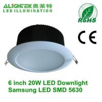 China 6inch dimmable led downlight 20W wholesale