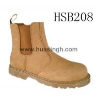China Hotselling Product Goodyear welted safety Chelsea shoes in honey on sale