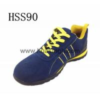 China Showcase Product blue sport safety shoes/safety trainer lightweight wholesale