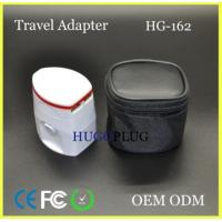 China Travel adapter with Twin USB wholesale