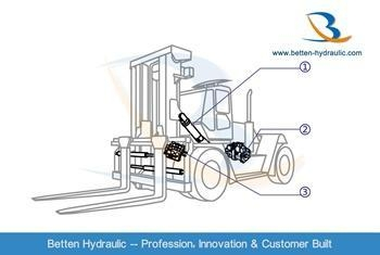 China Hydraulic Cylinder for Forklift