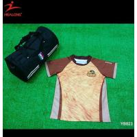 China The Lion MAO Pattern Sublimation Soccer Football Jersey Design on sale