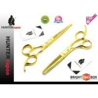 China 6.0 Gloden Color Hair Cutting Shears Set Model No.: HT9128 on sale